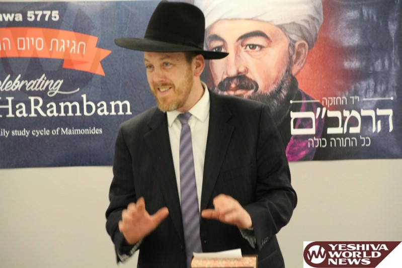 PHOTOS: An Historic Ottawa Event - Siyum Ha'Rambam 5775 (Photos By Issie Scarowsky)