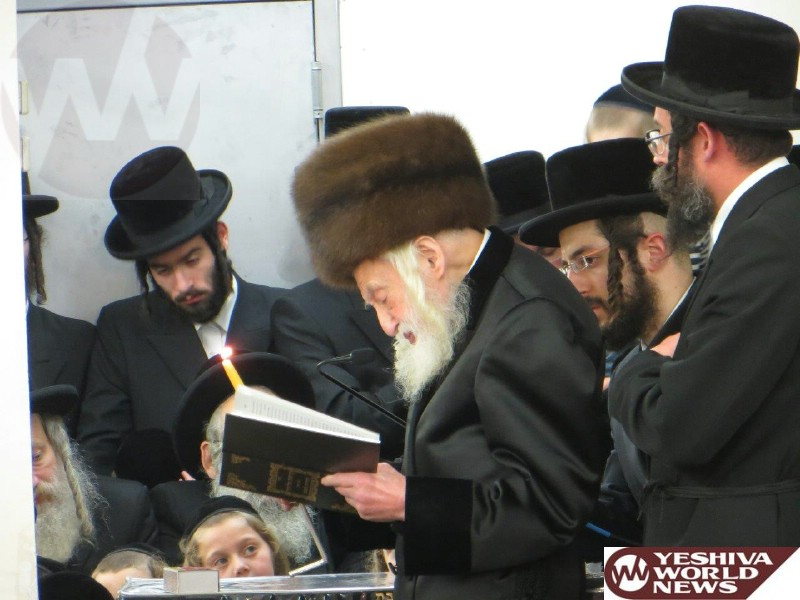 Photo Essay: First Night Of Chanukah 5775 By The Skulener Rebbe (Photos By JDN)