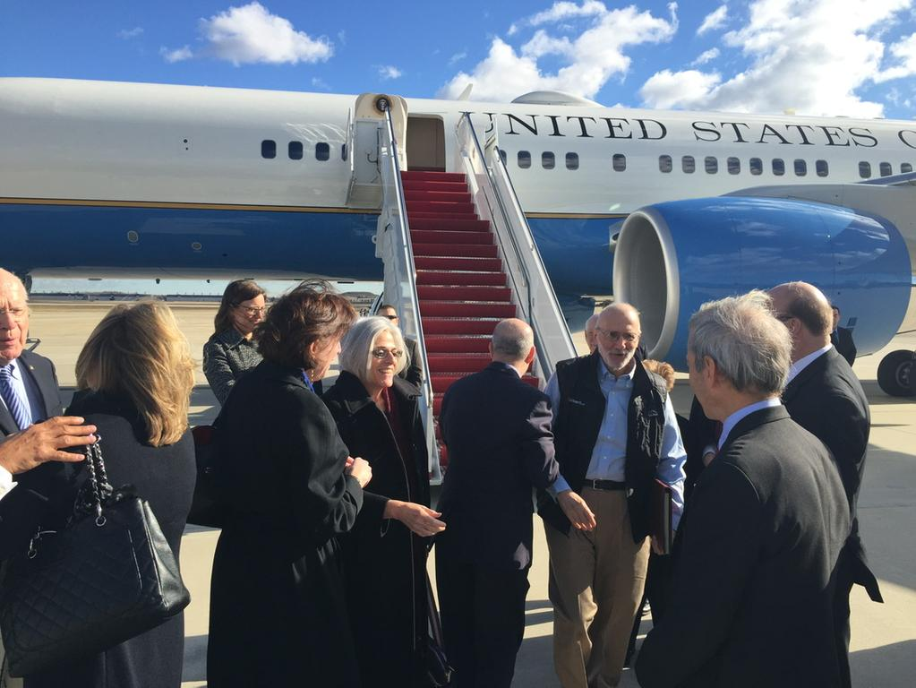 BREAKING PHOTO: Alan Gross, Back On U.S. Soil