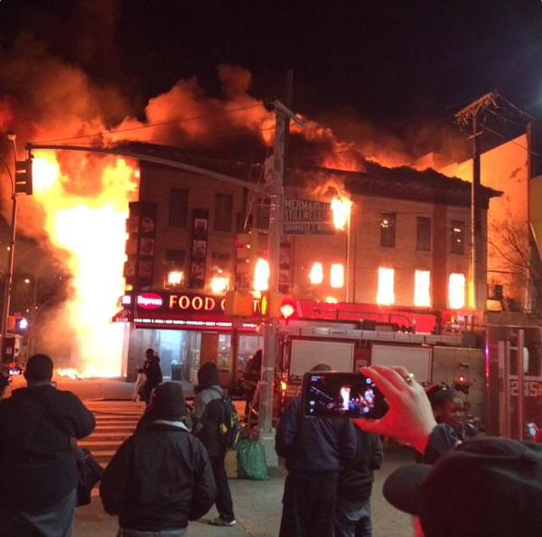Fires In Queens, Brooklyn Destroy Buildings