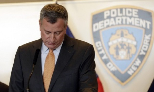 NYC Mayor de Blasio Says He Has Moved Past Police Crisis