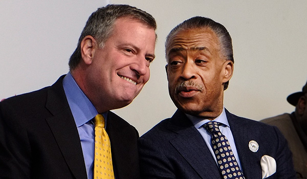 Sharpton: Blaming de Blasio For Police Shootings 'Reckless'