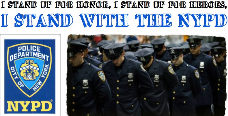 Greenfield Organizes Community Rally to Support the NYPD @NYCGreenfield