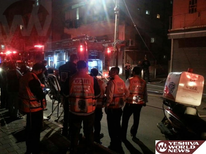 VIDEO AND PHOTOS: 3-Year-Old Seriously Injured in Tel Aviv Fire