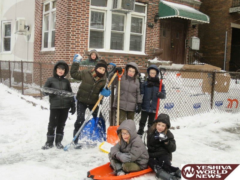 Photo Essay: Snow In Boro Park During The Blizzard That Never Happened (Photos By JDN)