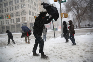 Blizzard Howls Its Way Into Boston; New York And Philadelphia Are Largely Spared