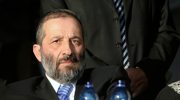 Deri Warns PM Netanyahu That Recognition Of Reform Jewry Will Result In Destroying The Coalition