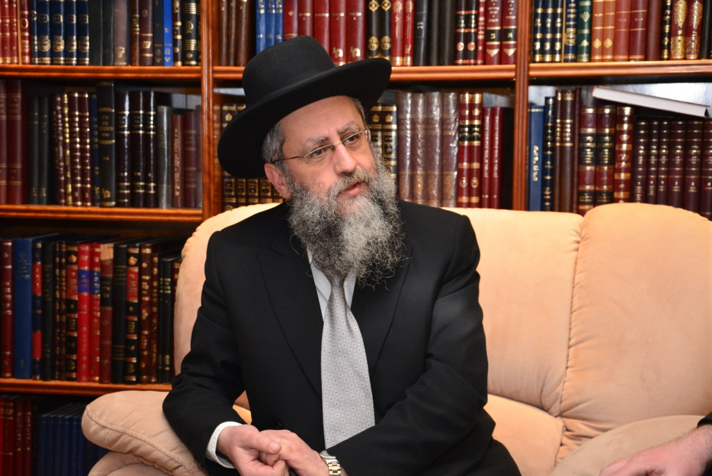 Rav Shlomo Amar And Rabbi David Yosef Meet In NYC