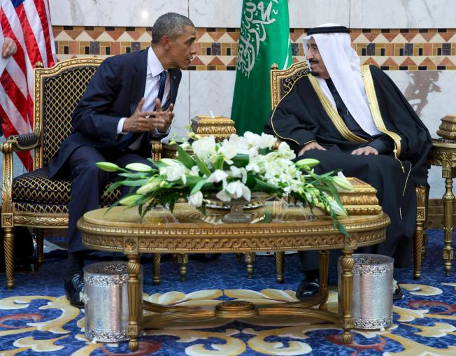 Paying Respects In Saudi Arabia, Obama Defends US Ties Despite Human Rights Concerns