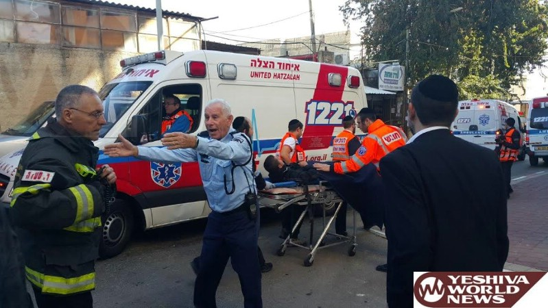 PHOTOS: Ichud Hatzalah Simulated Missile Attack Training Event
