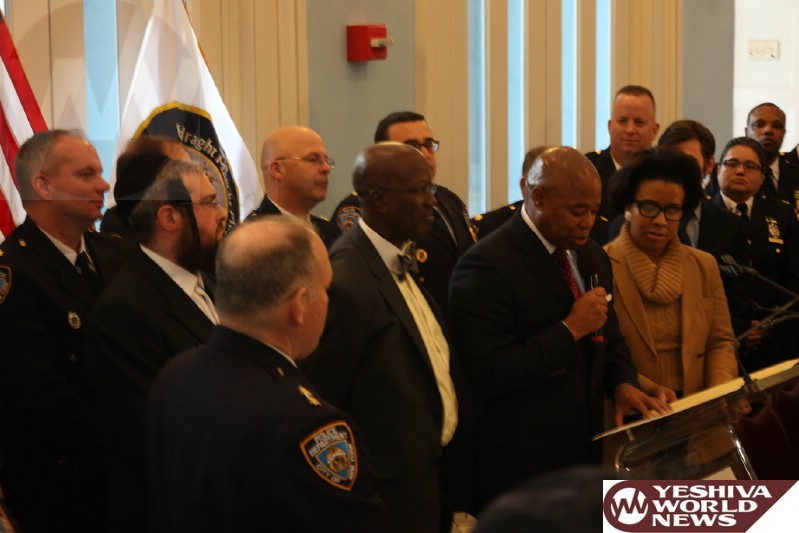 PHOTOS: Brooklyn Boro President Eric Adams Hosts Event Paying Tribute To Two Retiring NYPD Chief's