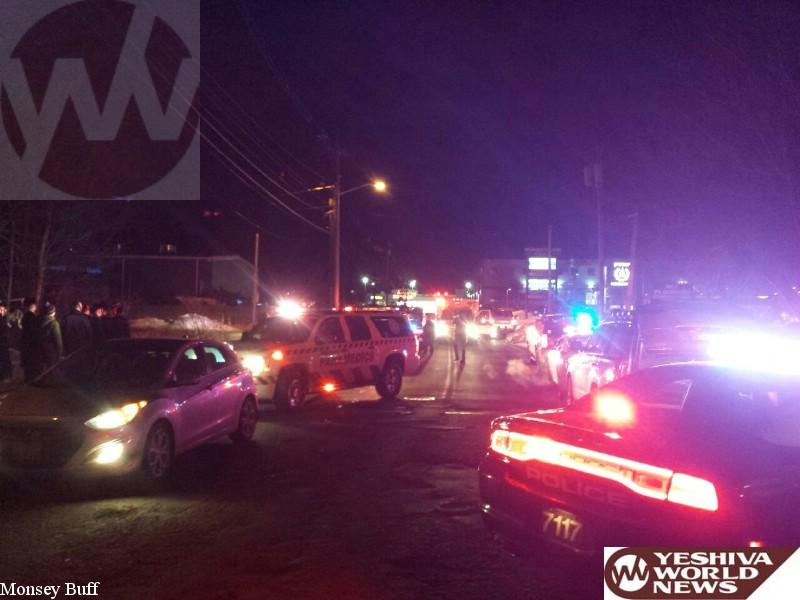 BREAKING: Pedestrian Struck In Traumatic Arrest On Robert Pitt Drive In Monsey