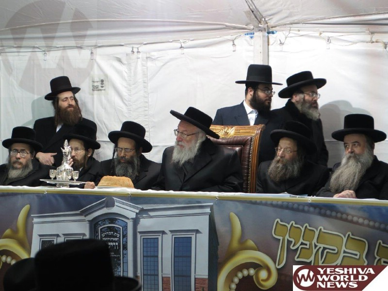 Photo Essay: Hanochas Even Hapinah For The New Vien Shul in Monsey (Photos By JDN)