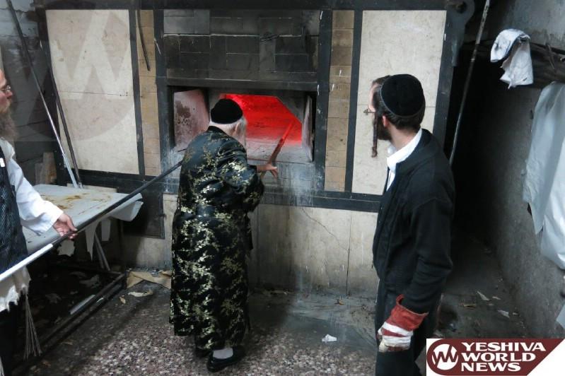 Photo Essay #2: Admorim And Rabbonim Baking Matzah For Pesach 5775 (Photos By JDN)