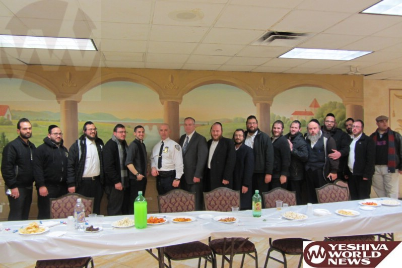 Photo Essay: Williamsburg Shomrim Meeting With NYPD Commanding Officers in Preparation For Pesach (Photos By JDN)