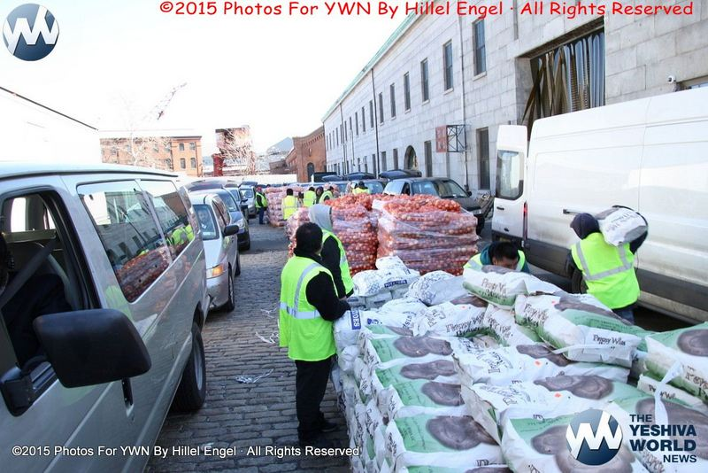Williamsburg: Thousands Benefit from UJO and Met Council Annual Passover Food Distribution [PHOTOS By Hillel Engel]