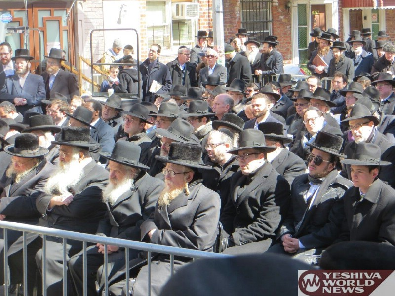 Photo Essay: Groundbreaking of A New Holocaust Education Center in Boro Park (Photos By JDN)