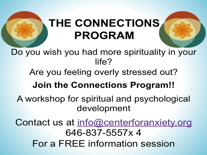 Stressed? Worried? Get Connected at the Center for Anxiety