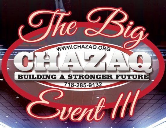 The Big CHAZAQ Event III - An Event you don't Want to Miss!