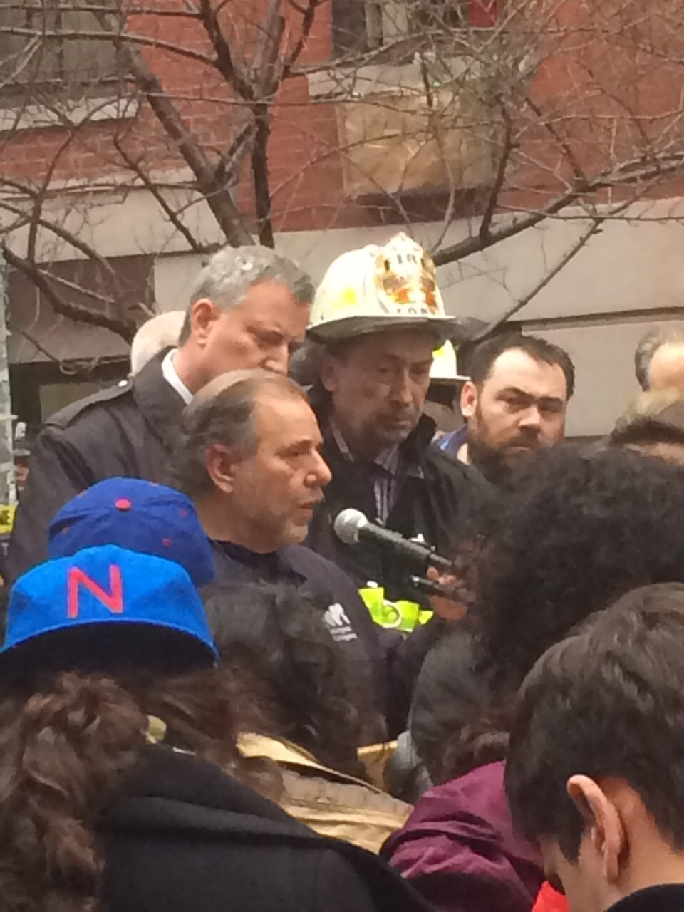 Remarks By NYC Mayor De Blaiso At Scene Of Manhattan Building Collapse