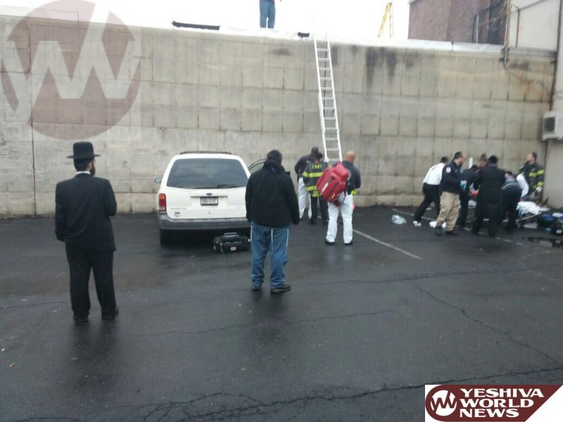 Brooklyn: Man Critical After Falling Off Ladder At 8 Ave And 20 St