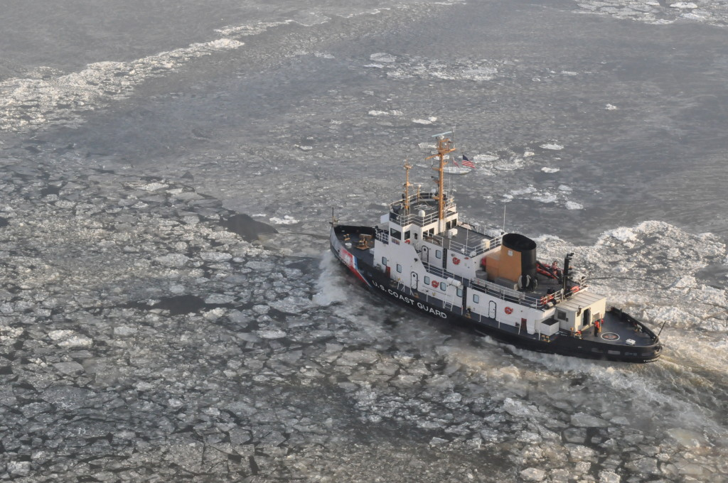 Ice Slows Business, Traffic On Northeast Waterways