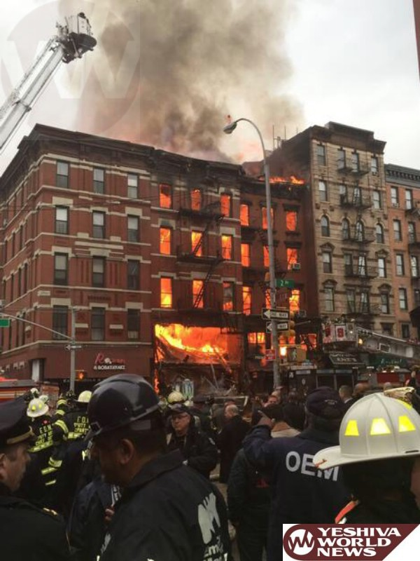 Authorities: 2 People Unaccounted For In NYC Blast