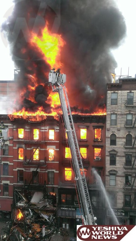 NYC Mayor: Gas Caused Explosion And Building Collapse; More Than Dozen Hospitalized