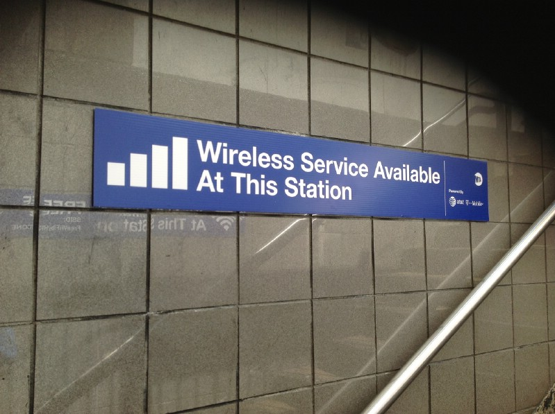 NYC: WiFi Service Now Available at 100 Subway Stops