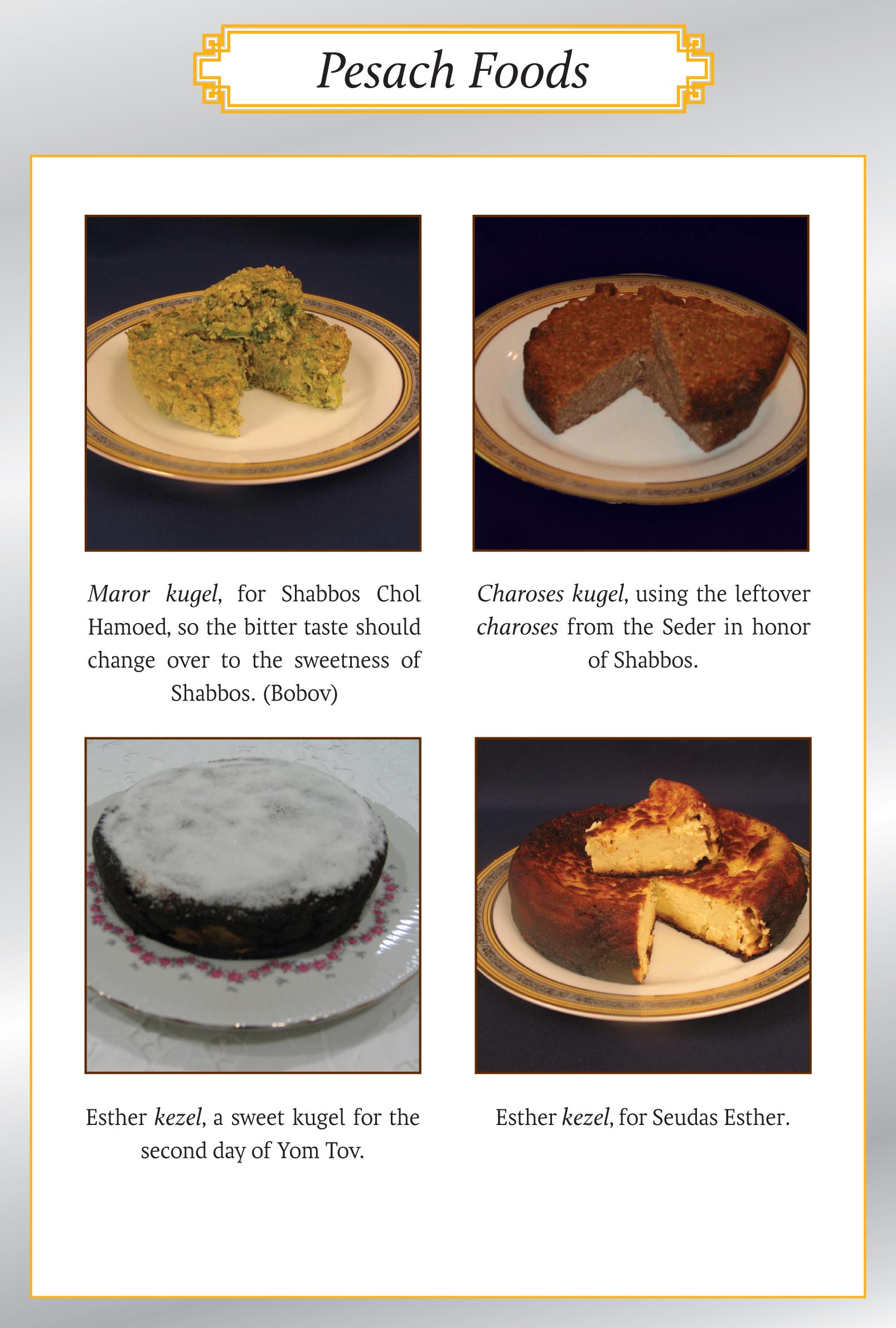 Passover 2015 Food