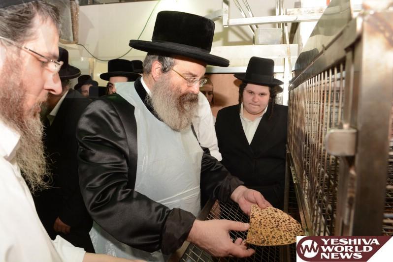 Photo Essay: Admorim Baking Matzoh For Pesach 5775 (Photos By JDN)