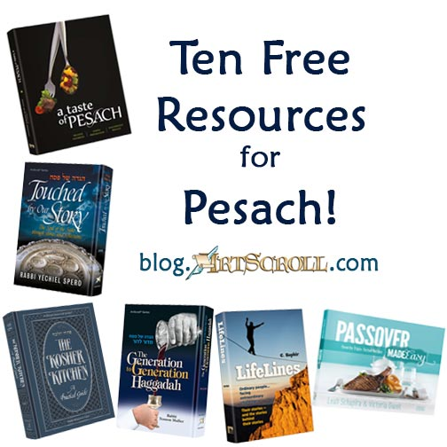 ArtScroll Offers Free Resources to Prepare for Pesach