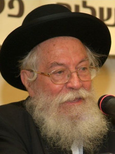 Rav Zalman Nechemia Goldberg: One Mustn't Vote for a Party with Non-Frum Persons on the List
