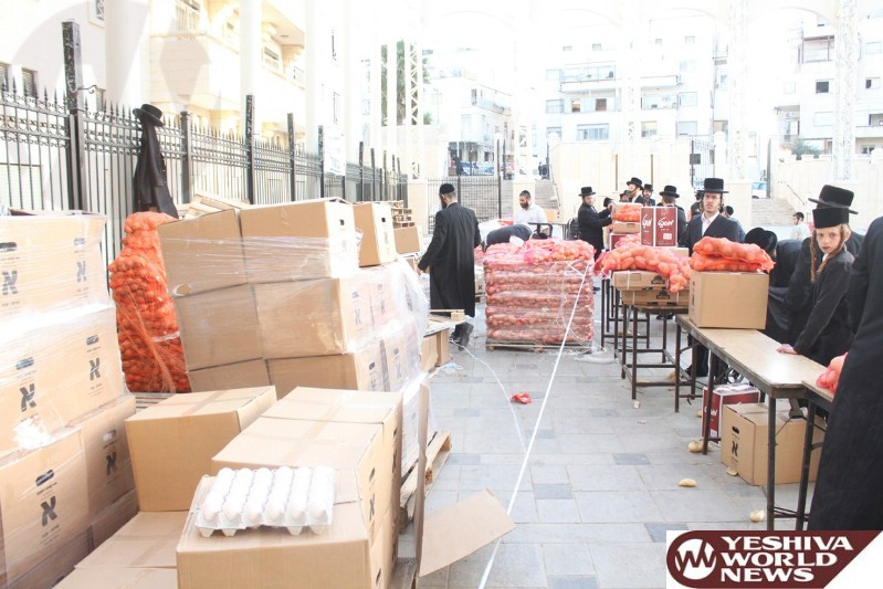 Photo Essay: Kimcha D'Pischa By Kehilas Belz in Yerushalayim (Photos By JDN)