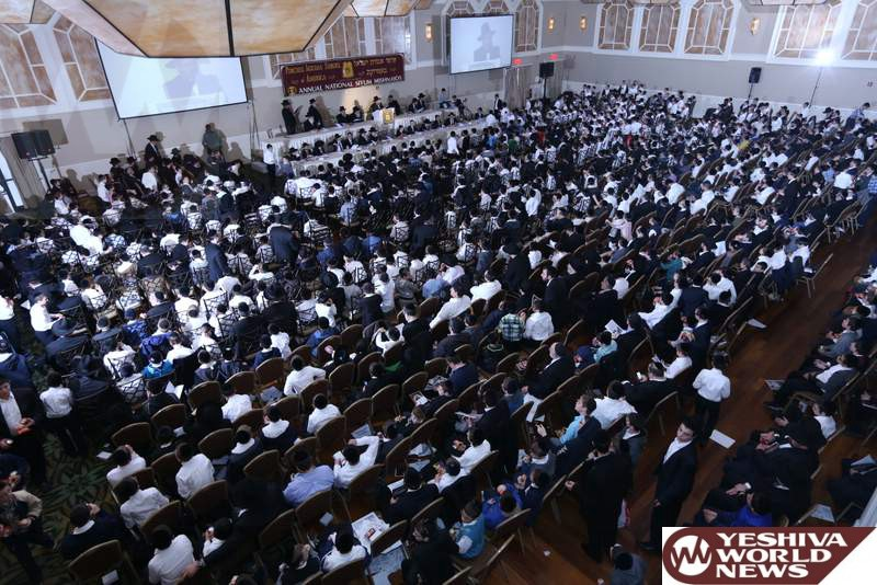 Over 1,000 Boys Celebrate 52nd Annual National Pirchei Agudas Yisroel Siyum Mishnayos