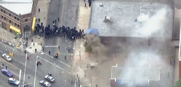 Statement From Baltimore Shomrim Regarding Nearby Riots