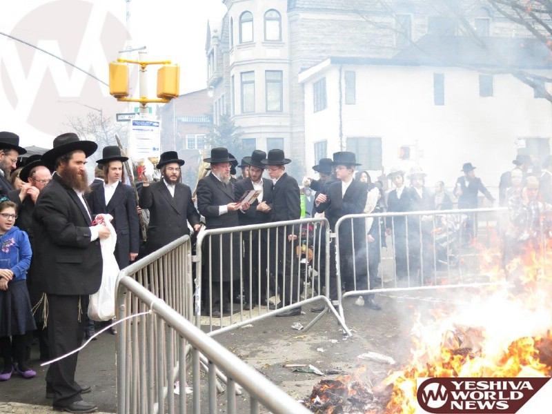 ... In Boro Park On Erev Pesach 5775 (Photos By JDN) – The Yeshiva World