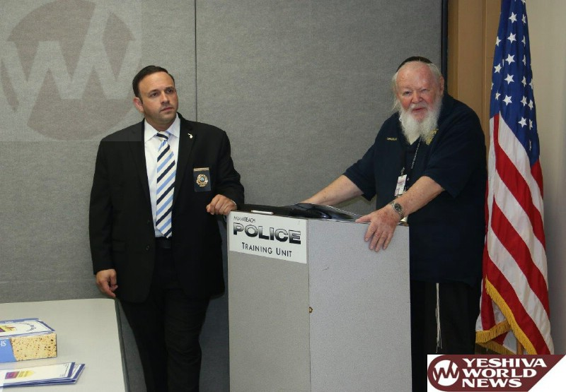 Photo Essay: Jewish Community leaders Meet With Police Officials In Miami Ahead Of Pesach (Photos By JDN)