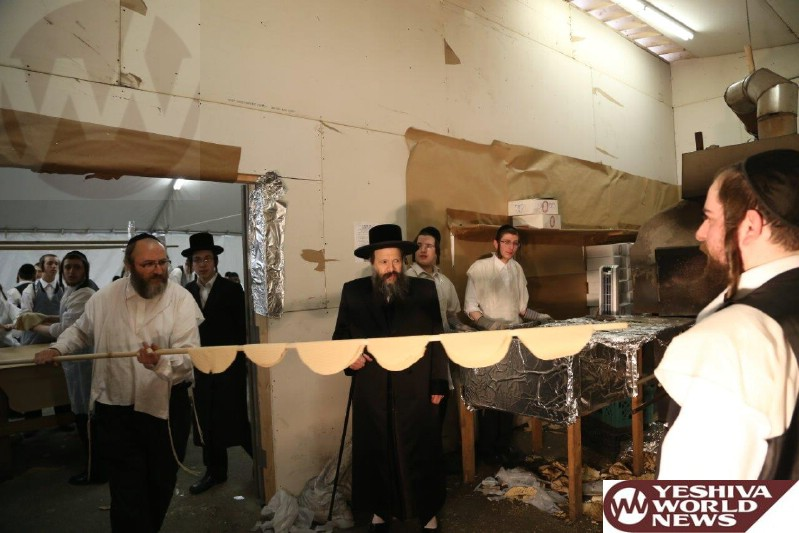 Photo Essay #3: Admorim And Rabbonim Baking Matzah For Pesach 5775 (Photos By JDN)