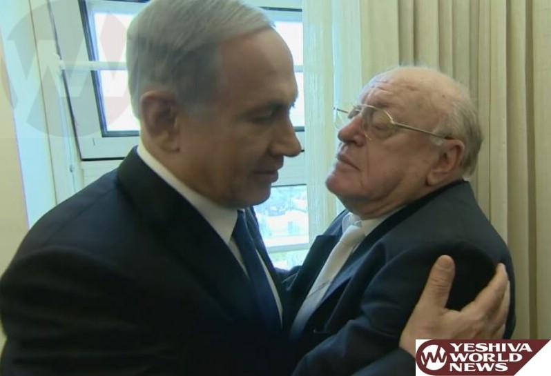 VIDEO: PM Netanyahu Meets with Holocaust Survivor Avraham Niederhoper
