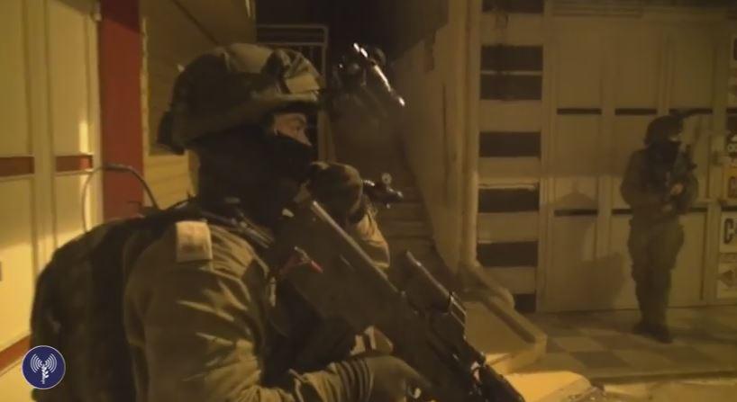 Terrorist Falls to His Death Fleeing IDF Soldiers