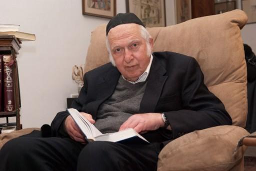 PM Netanyahu Expresses His Sorrow over the Passing of Rabbi Aharon Lichtenstein
