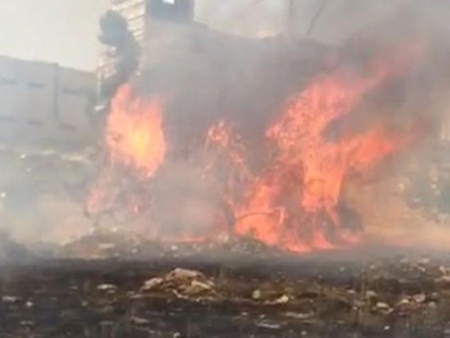 Fires Reported Around Israel Amid Oppressive Heatwave