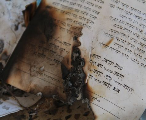Vandals Burn Sifrei Kodesh in Bnei Akiva Branch in Nazareth