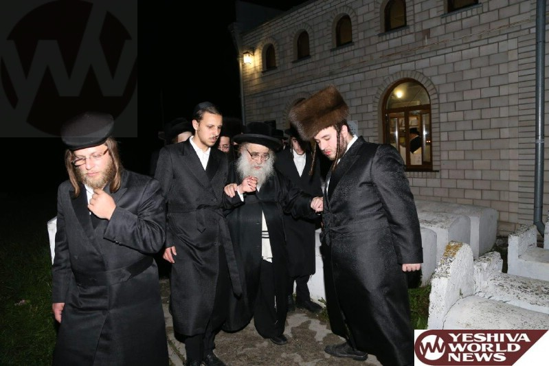 Photo Essay: Shavuos 5775 At The Kever Of The Baal Shem Tov In Mezibuz (Photos By Avrumi Blum - JDN)