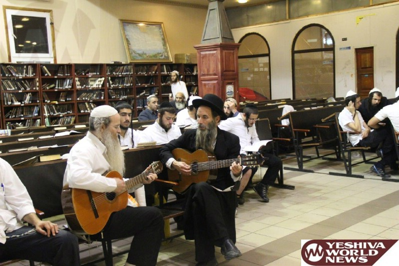 Photo Essay: Erev Shavuos 5775 In Uman (Photos By JDN)