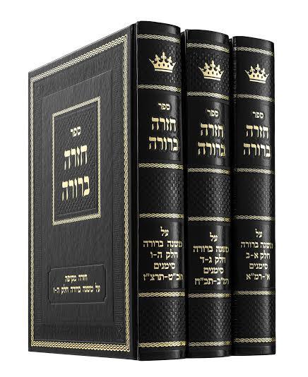 Sefer Chazarah Berurah Vol III