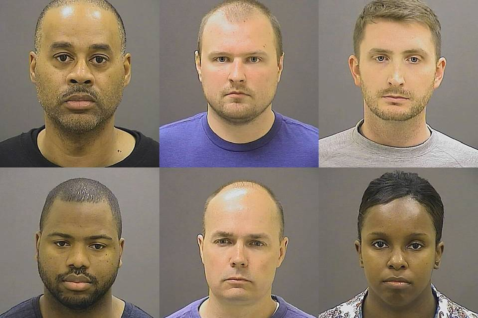 BREAKING: 6 Baltimore Officers Indicted in Freddie Gray Death