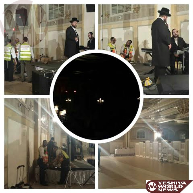 PHOTOS: Chaverim Of Rockland Brings Generators To Wedding Hall At Yeshiva Of Spring Valley After Blackout Hits Neighborhood