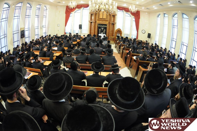Photo Essay: Gaved Yerushalayim Giving a Shmooze in Preparation For Shavous in Beit Shemesh (Photos By JDN)